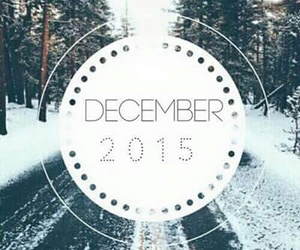 december, winter, and 2015 image