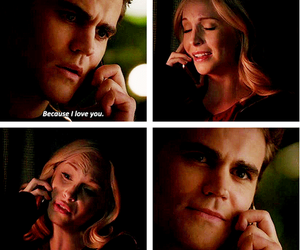 story, tvd, and stefansalvatore image