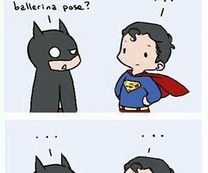 funny, superman, and batman image