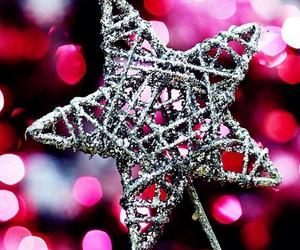 christmas, star, and lights image