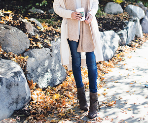 autumn, style, and boots image