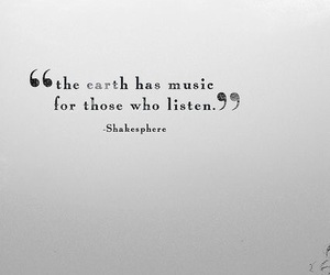 music, shakespeare, and the earth image