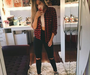 girl, moda, and outfit image