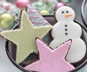 christmas, lovely, and stars image