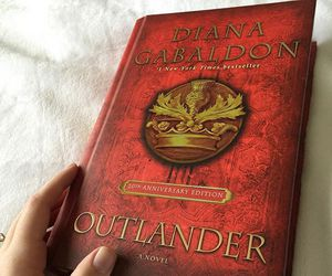 outlander and book image