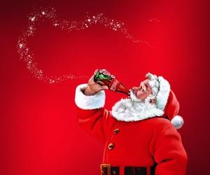 christmas, winter, and coca cola image