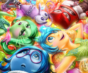 inside out, disney, and sadness image