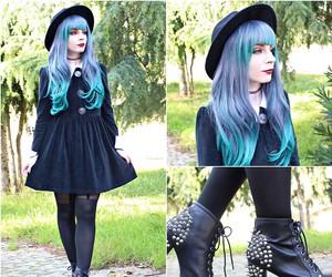 girl, gothic, and alternative image