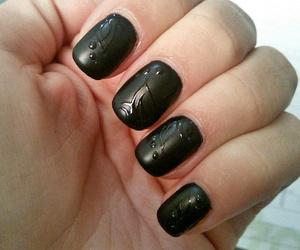 black, design, and matte image