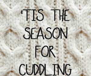 winter, cuddling, and season image