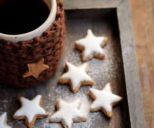 coffee, Cookies, and christmas image