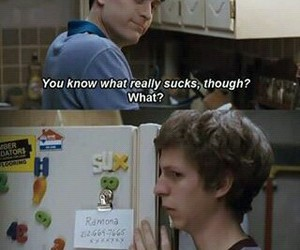 quotes, movie, and scott pilgrim image