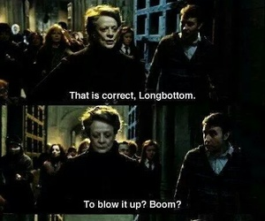 harry potter, boom, and hogwarts image