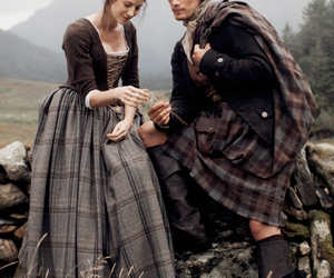 outlander, jamie fraser, and love image