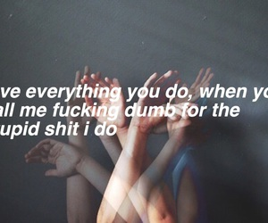alternative, grunge, and Lyrics image