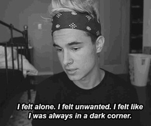 alone, sad, and kian lawley image