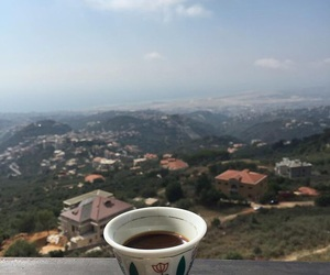 arab, Beirut, and coffee image