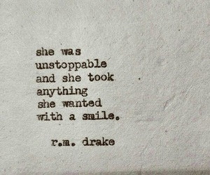 quotes, smile, and unstoppable image