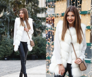 fashion blogger, winter, and outfit inspiration image