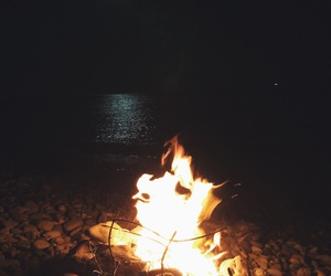 chill, fire, and relax image