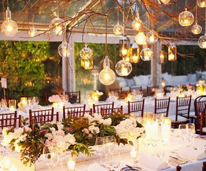 wedding and light image