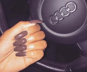 nails, audi, and car image