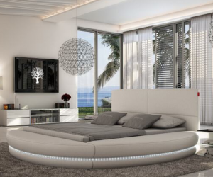modern bedroom, bedroom mattress, and modern bed perth image