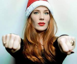 christmas, singer, and Epica image