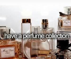 chanel, collection, and perfume image