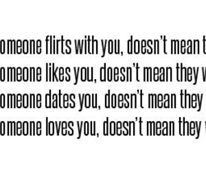 love, flirt, and quotes image