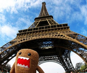 paris, domo, and eiffel tower image