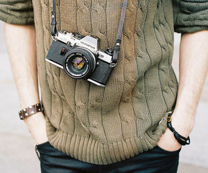 camera, indie, and boy image