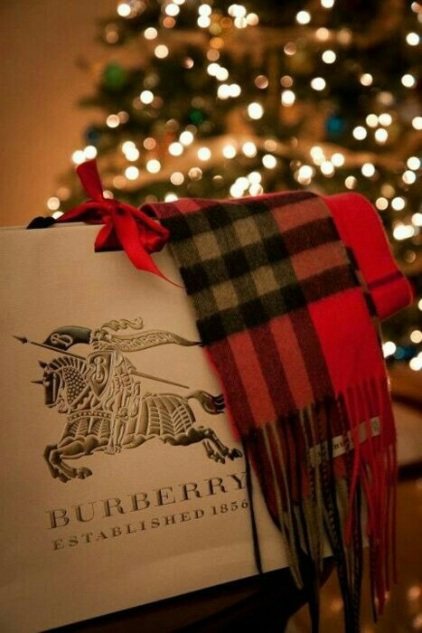 opgehaald professionele verkoop betrouwbare kwaliteit Burberry Christmas Gift discovered by lala_p on We Heart It