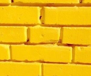 yellow, aesthetic, and brick image