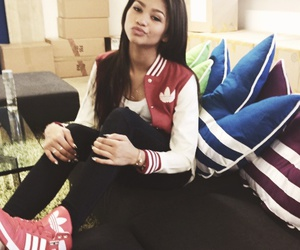 zendaya, adidas, and red image