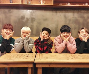 vernon, woozi, and ailee image