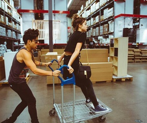 maia mitchell, couple, and goals image