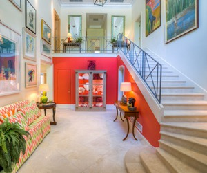 decor, dream home, and hall image