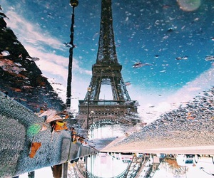 paris, water, and autumn image