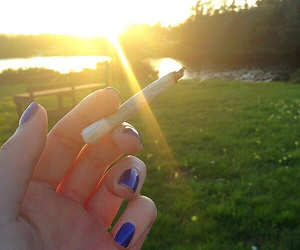 beautiful, hippy, and joint image
