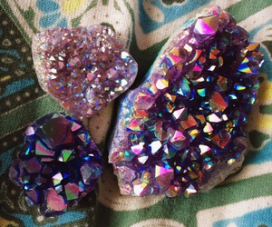amethyst, boho, and colorful image