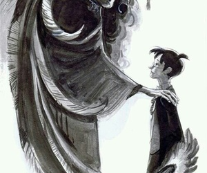 harry potter, art, and dumbledore image