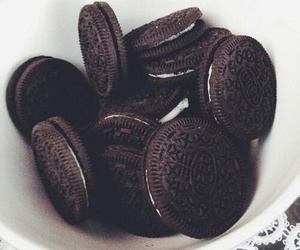 food, oreo, and Cookies image