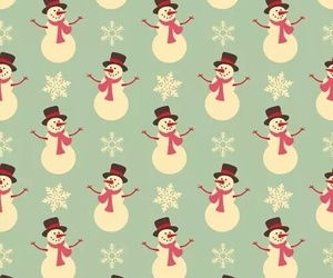 christmas, snowman, and wallpaper image