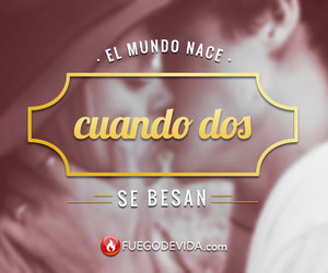 Besos, frases, and love image