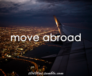abroad, city, and city lights image