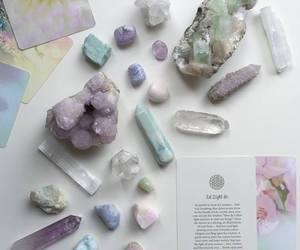 crystal, pastel, and grunge image