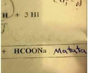 funny, hakuna matata, and chemistry image
