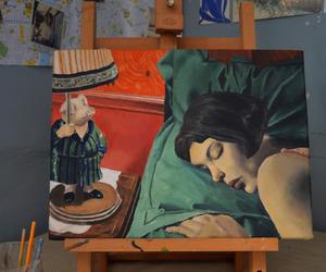 amelie, movie, and paint image