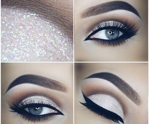 beautiful, eyes, and makeupartist image